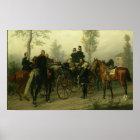 Napoleon III und Bismarck Poster