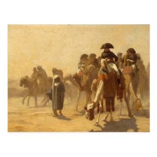 Napoleon in Ägypten Postkarte