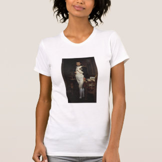 Napoleon in seiner Studie durch Jacques Louis T-Shirt