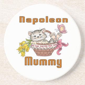Napoleon-Katzen-Mamma Getränkeuntersetzer