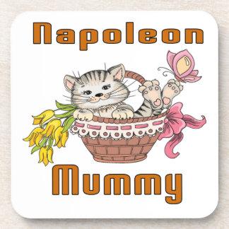 Napoleon-Katzen-Mamma Untersetzer