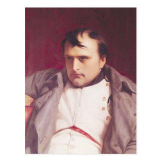 Napoleon nach seiner Abdankung Postkarte