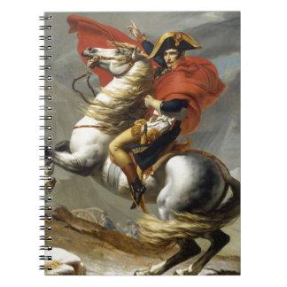 Napoleon überquerte die Alpen Spiral Notizblock