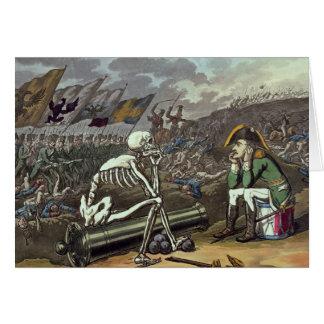 Napoleon und Skelett, 18. Karte