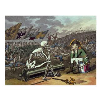 Napoleon und Skelett, 18. Postkarte