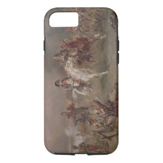 Napoleons Rückzug (Öl auf Leinwand) iPhone 8/7 Hülle