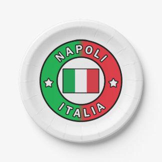 Napoli Italien Pappteller
