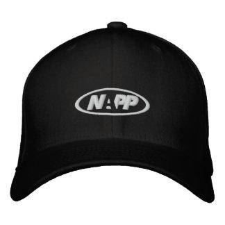 NAPP Kappe im Schwarzen Bestickte Caps