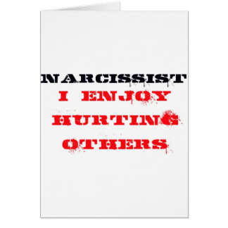 Narcissist-Definition Karte