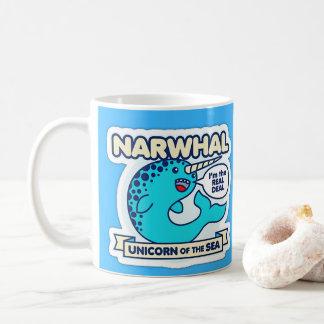 Narwhal Einhorn des Meeres Kaffeetasse