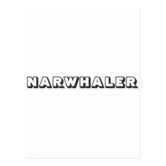 Narwhaler Logo Postkarte