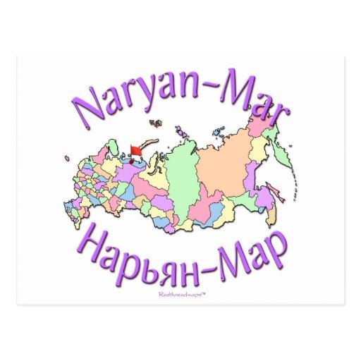 Naryan-Mrz Russland Postkarte