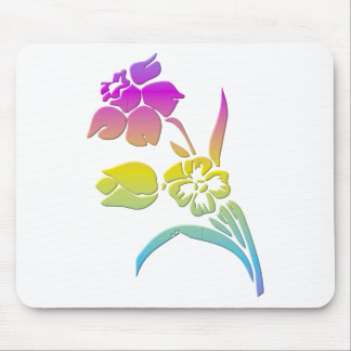 Narzisse und Tulpe Mousepad