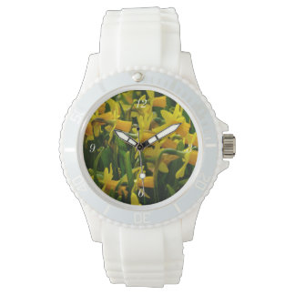 Narzissen-Familie Armbanduhr
