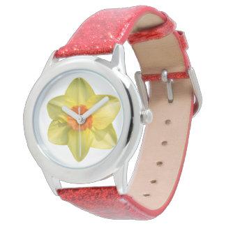 Narzissenverrücktheit Armbanduhr