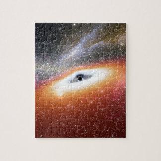 NASAs enormes schwarzes Loch Puzzle