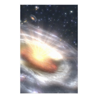 NASAs Quasar-schwarzes Loch Briefpapier
