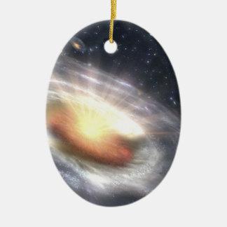 NASAs Quasar-schwarzes Loch Keramik Ornament
