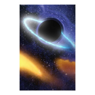 NASAs schwarzes Loch PIA01884 Briefpapier
