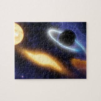 NASAs schwarzes Loch PIA01884 Puzzle