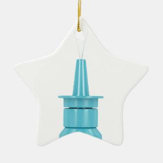 Nasensprayflasche Keramik Ornament