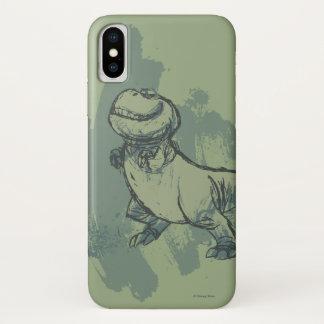 Nash Skizze iPhone X Hülle