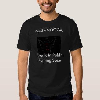 NASHNOOGA betrunken in der Öffentlichkeit, die Shirts