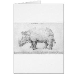Nashorn durch Albrecht Durer Karte