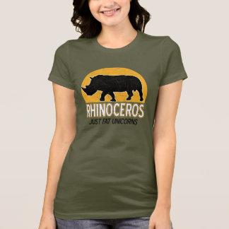 Nashorn - gerade fettes Unicors T-Shirt