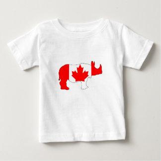 Nashorn Kanada Baby T-shirt