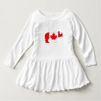 Nashorn Kanada Kleid