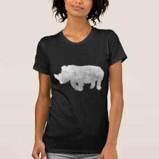Nashorn:: Lehnen Sie Elfenbein-Kriege ab! T-Shirt