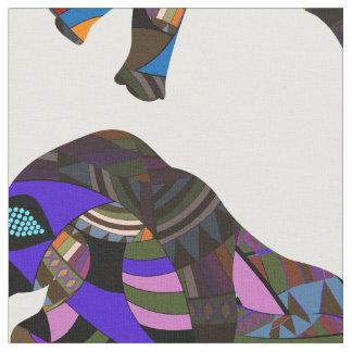 Nashorn Stoff