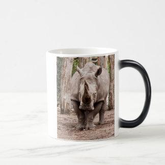 Nashorn Verwandlungstasse