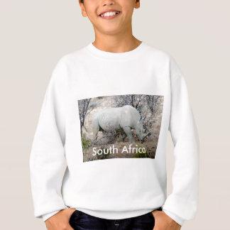 Nashorn von Südafrika Sweatshirt