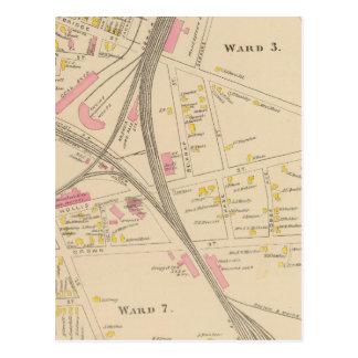 Nashua, Bezirk 3, 7 Postkarte