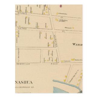 Nashua, Bezirk 7, Edgeville Postkarte