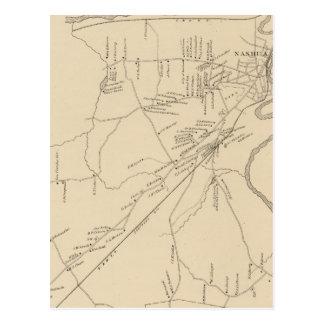 Nashua, Hillsborough Co Postkarte