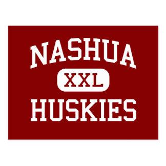 Nashua - Huskies - Highschool - Nashua Iowa Postkarte
