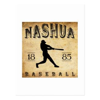 Nashua-New Hampshire-Baseball 1885 Postkarte