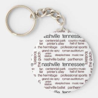 Nashville Brown Schlüsselanhänger