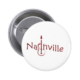 Nashville Runder Button 5,1 Cm