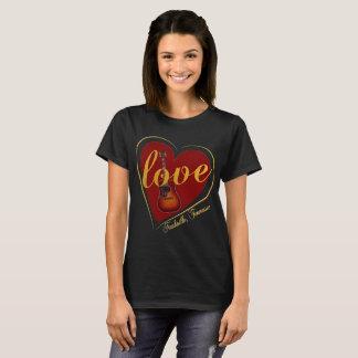 Nashville-Frauen des Valentines Tagesdie Shirts