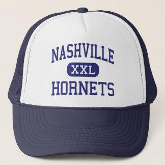 Nashville-Hornissen mittleres Nashville Illinois Truckerkappe