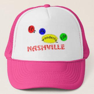 Nashville ist es ein wunderbares Leben Truckerkappe