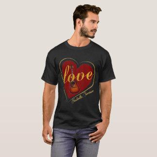 Nashville-Männer des Valentines Tagesdie Shirts