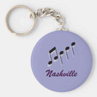 Nashville-Musiknoten Schlüsselanhänger