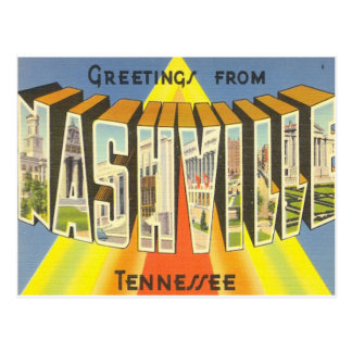 Nashville-Postkarte Postkarte