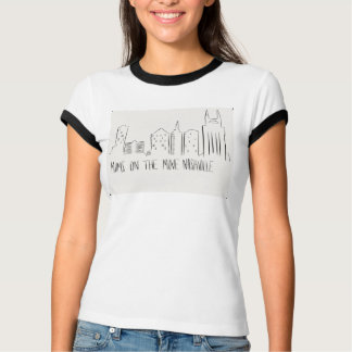 Nashville-Skyline-Mammen Nashville in Bewegung T-Shirt