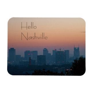 Nashville-Stadt-Sonnenaufgang Magnet